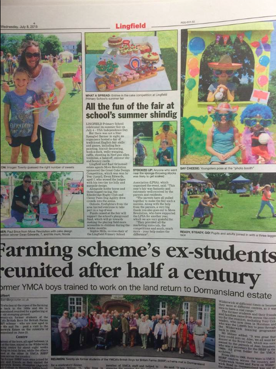 Lingfield Primary School's Country Fair