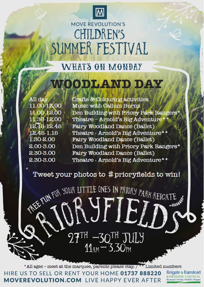 What will you be doing at Prioryfields?