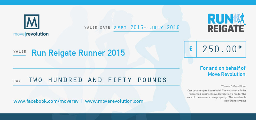 £250 off at Move Revolution for Run Reigate Participants!