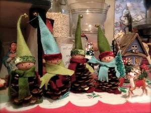 1. Elf pine cones