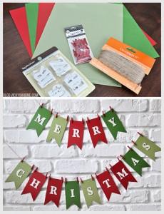 10. Merry Christmas Banner