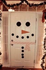2. Snowman Door