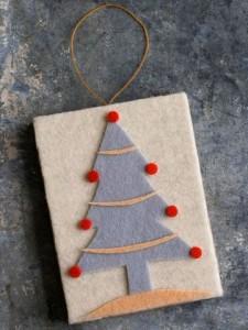 6. Felt Christmas Tree