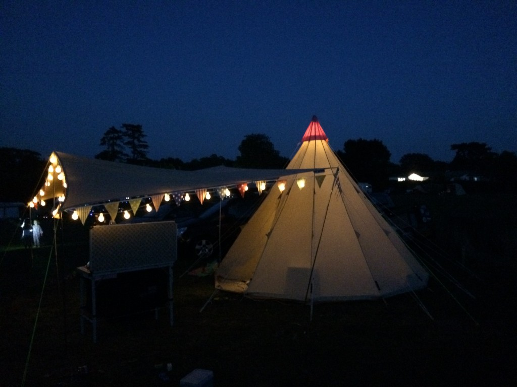 Family Glamping in Sussex and Surrey