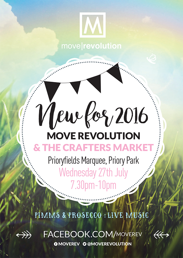 Move Revolution & The Crafters Market NEW for 2016