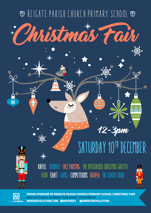 It's Christmas Time! – Reigate Parish Christmas Fair