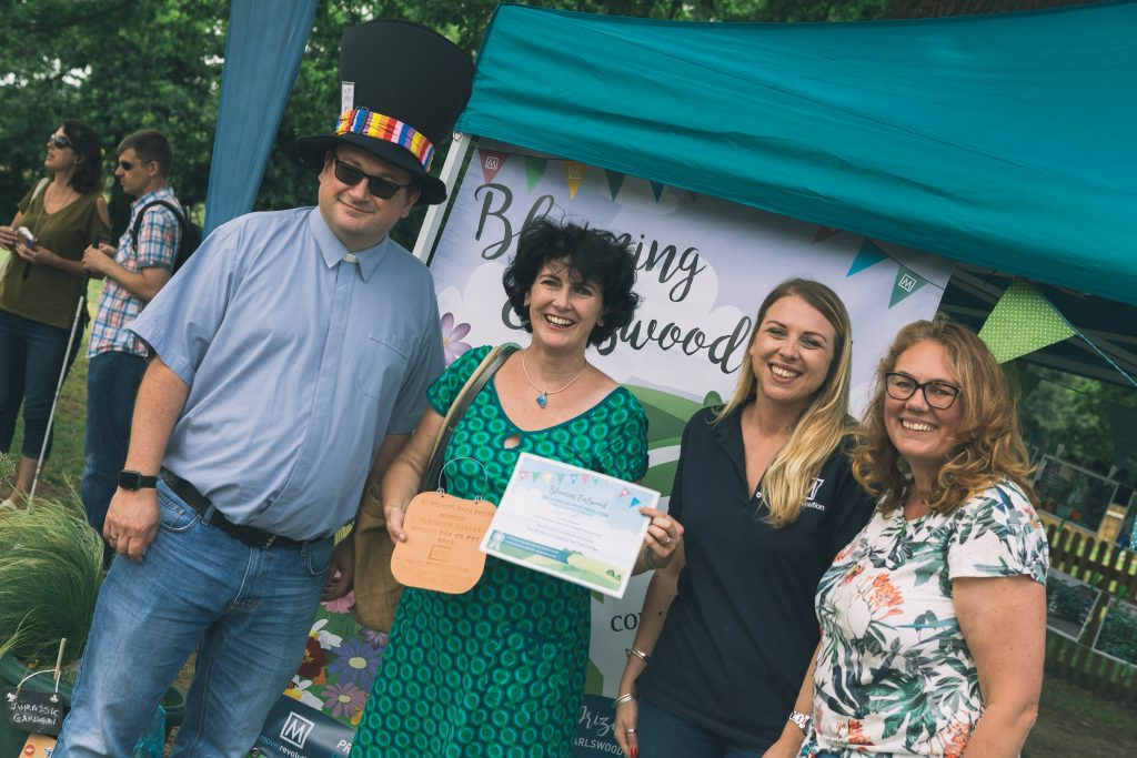 Blooming Earlswood awards at the Earlswood School Summer Fair