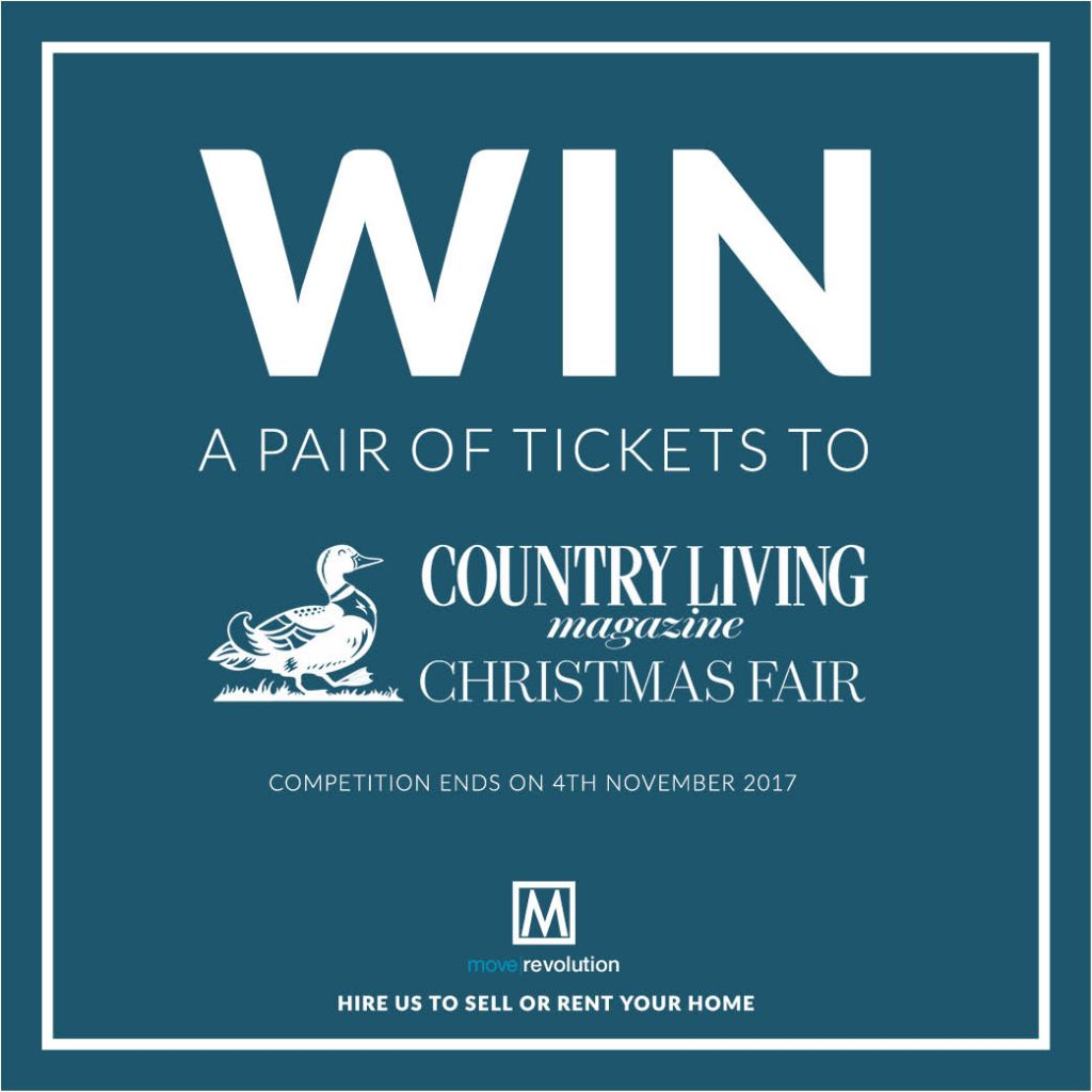 Win a pair of Country Living Christmas Fair Tickets 2017!
