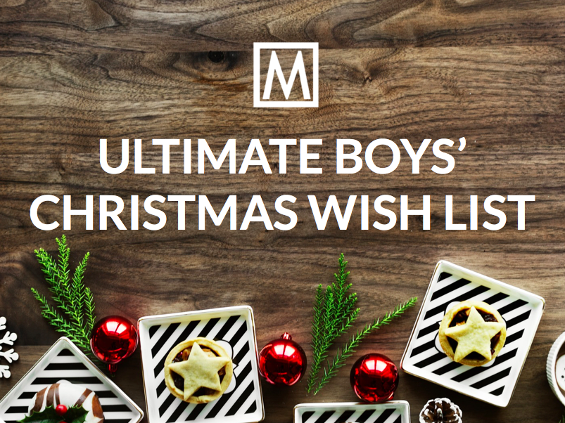 The Ultimate Christmas Wish List for Boys'