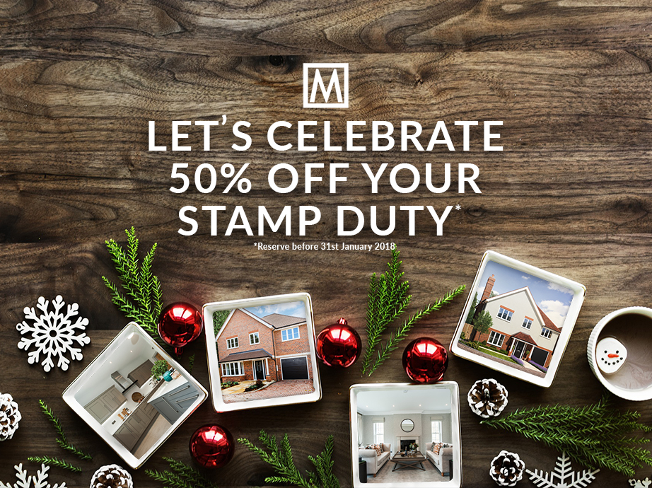 Let's celebrate – 50% off Stamp Duty…on these gorgeous houses!