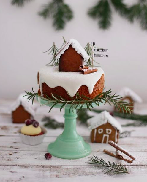Feeling the love for Gingerbread Houses!