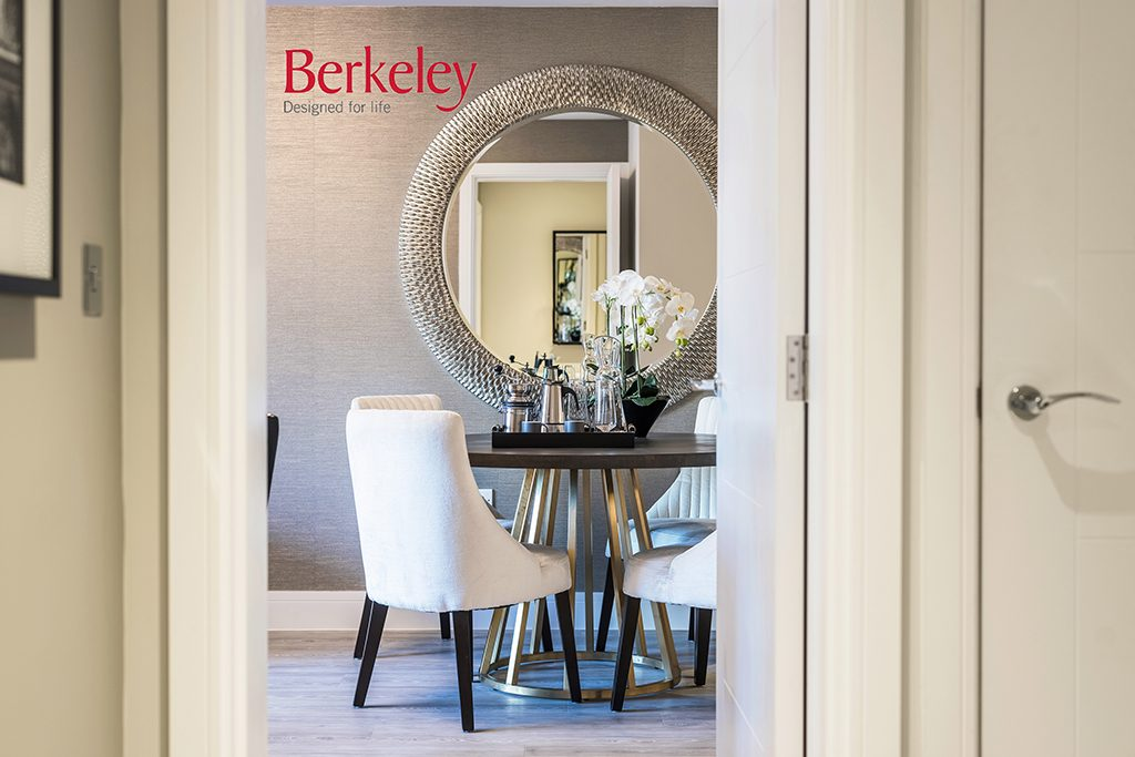 Help To buy apartments from Berkeley home in Horsham - Dining room image