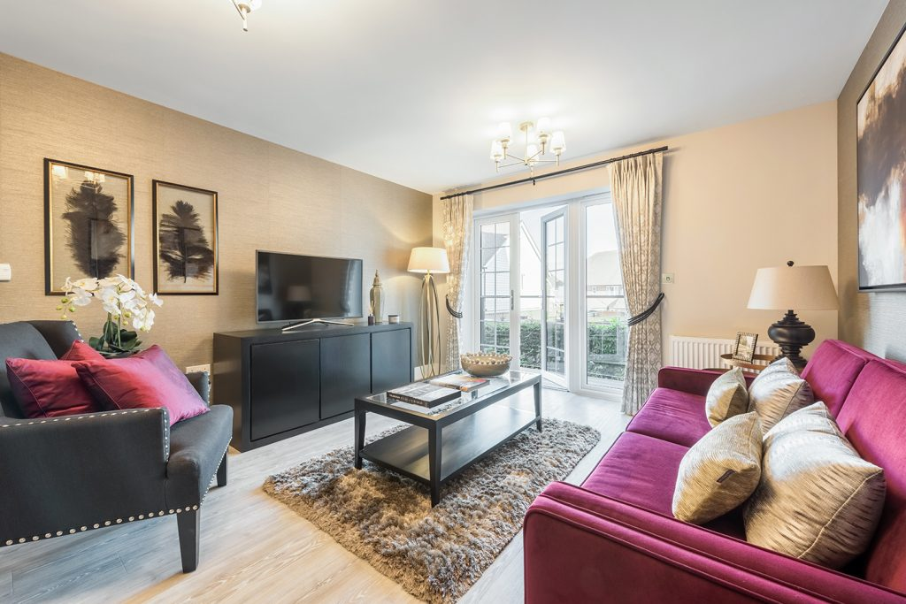 Help To buy apartments from Berkeley home in Horsham - Lounge image