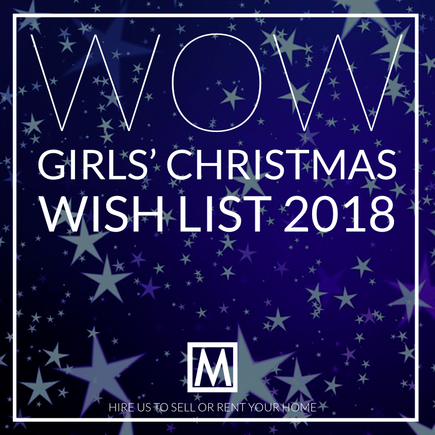 Move Revolution Christmas Girls Wish List 2018!