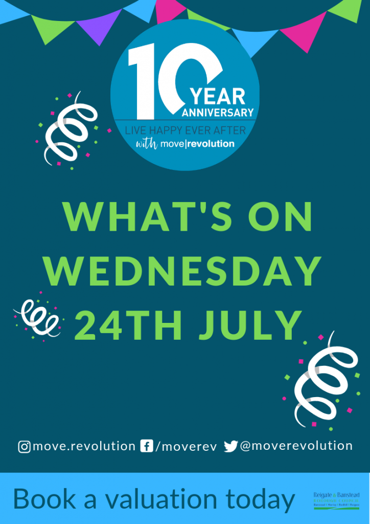 Our Birthday Party – What's on (1) Wednesday 24th July
