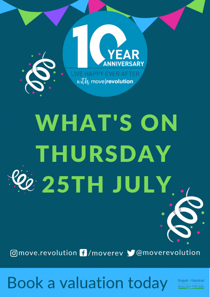 Our Birthday Party : What's On (2) Thursday 25th July