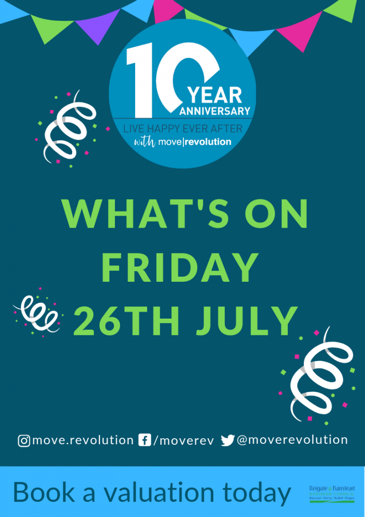Our Birthday Party : What's On (3) Friday 26th July