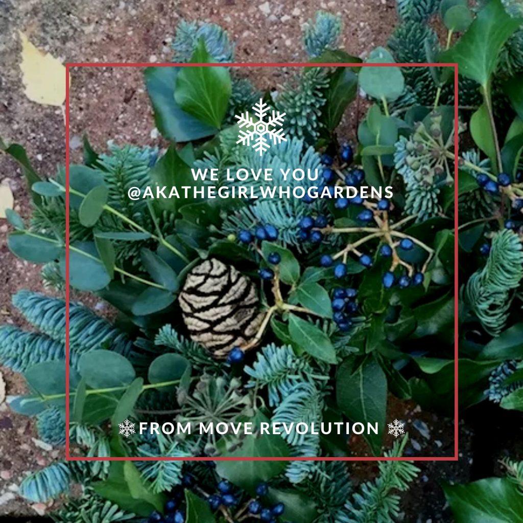A Christmas Wreath…